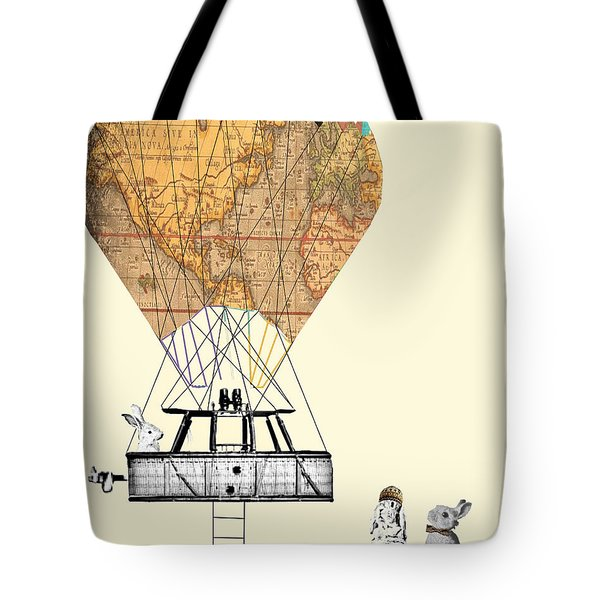 Adventure Days  Tote Bag