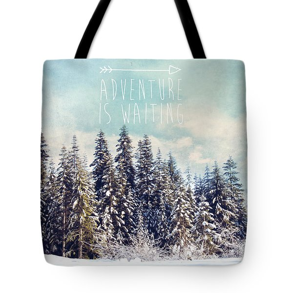 Tote Bag featuring the photograph Adventure Is Waiting by Sylvia Cook