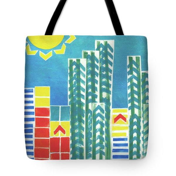 On The Sunnyside Tote Bag