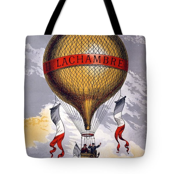 Advertisement For Balloons Manufactured Tote Bag