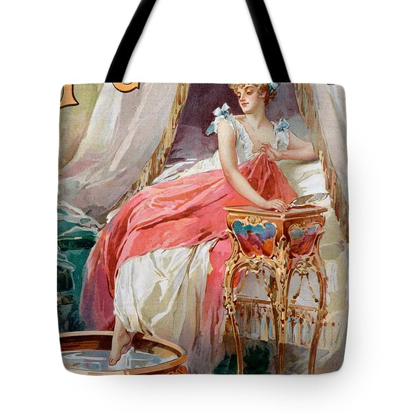 Advertisement For Pears Soap Tote Bag by English School