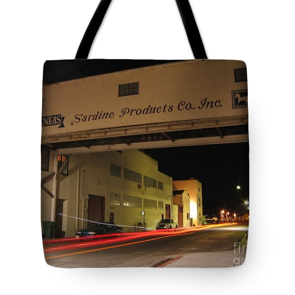 Aeneas Overpass On Cannery Row Tote Bag