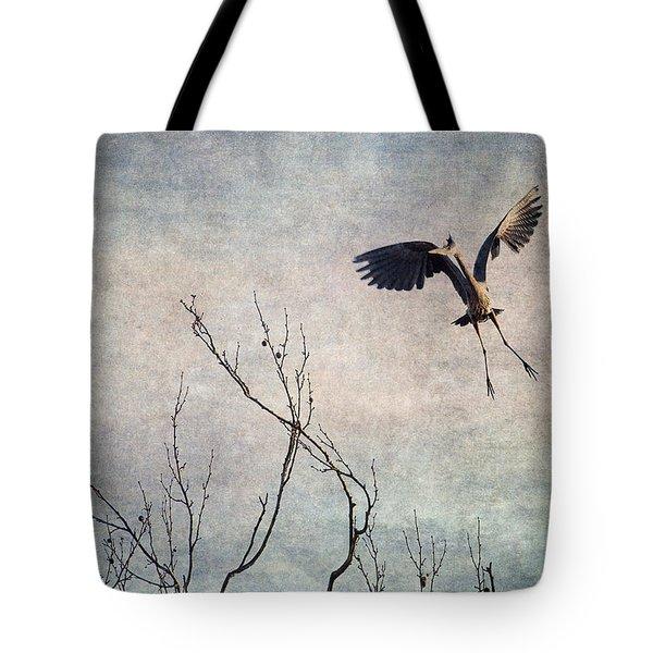 Aerial Dance Tote Bag