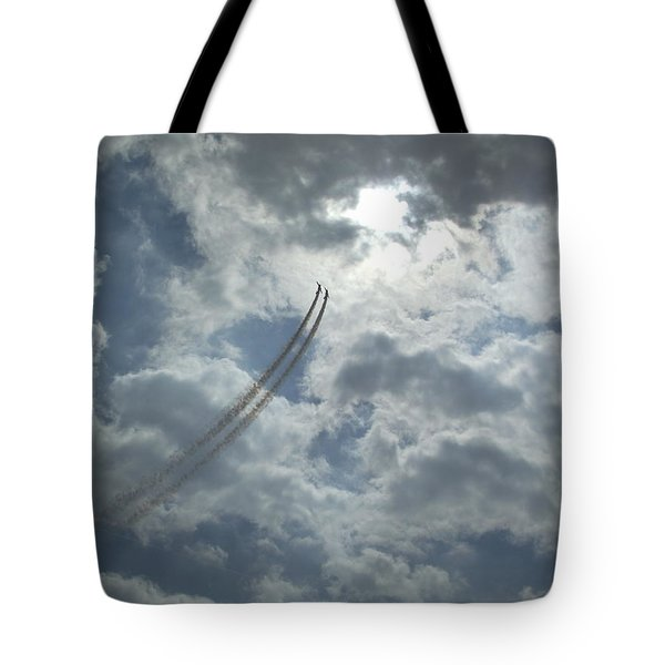 Aerial Display 2 Tote Bag