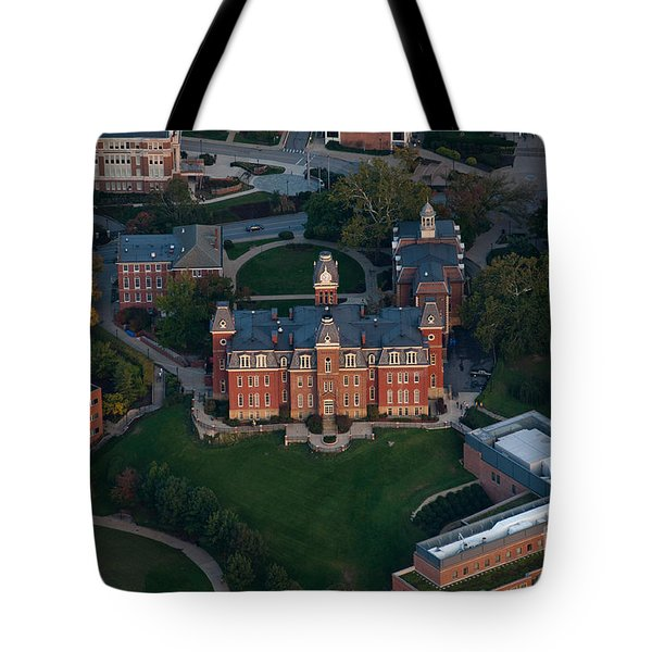 Aerial Of Woodburn Hall Tote Bag by Dan Friend