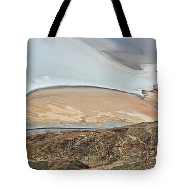 Aerial View Of A Landscape, Death Tote Bag