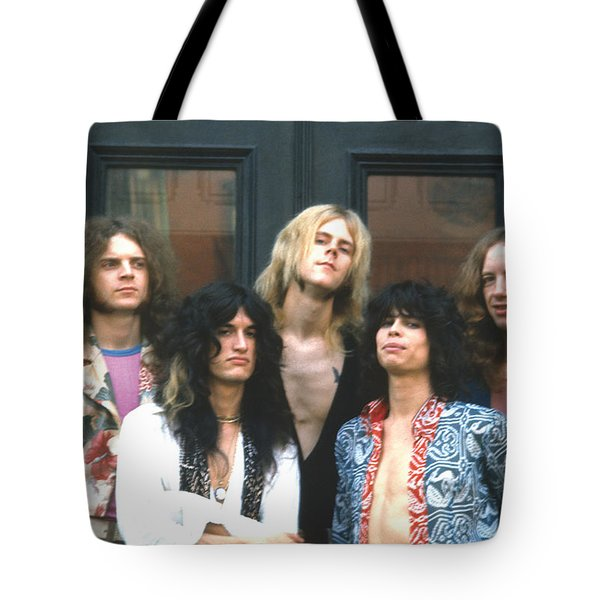 Aerosmith - Boston 1973 Tote Bag by Epic Rights