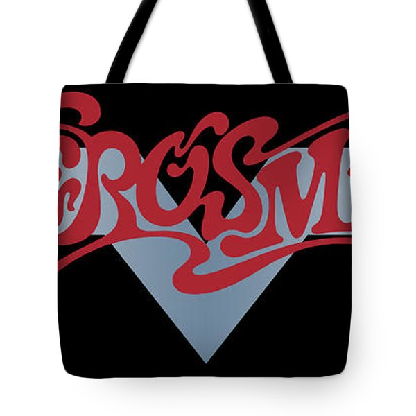 Aerosmith - Dream On Banner 1973 Tote Bag by Epic Rights