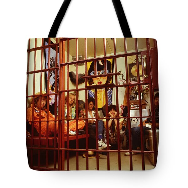 Aerosmith - In A Cage 1980s Tote Bag by Epic Rights