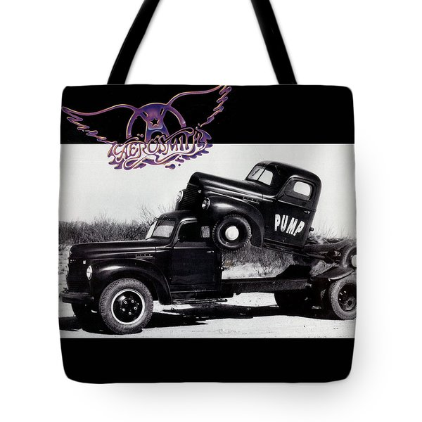 Aerosmith - Pump 1989 Tote Bag by Epic Rights