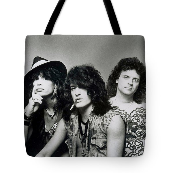 Aerosmith - What It Takes 1980s Tote Bag by Epic Rights