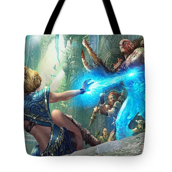 Aetherize Tote Bag by Ryan Barger
