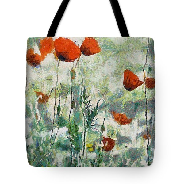 Tote Bag featuring the painting Affection by Joe Misrasi