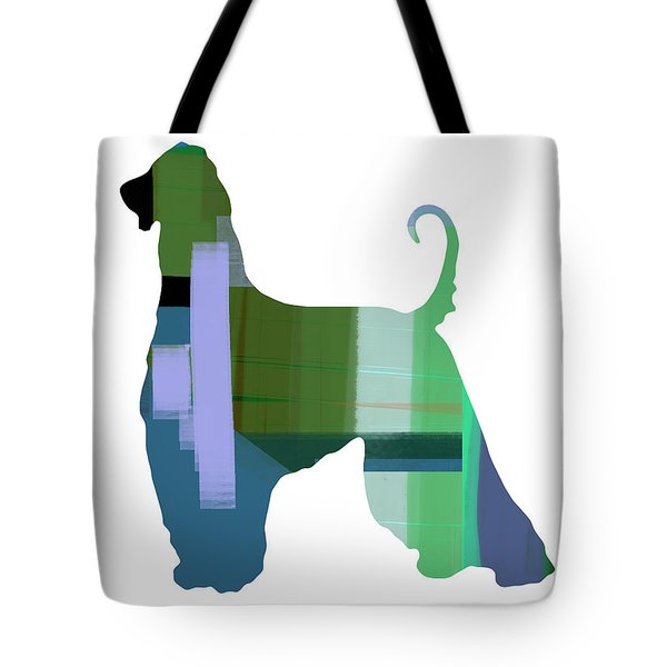 Afghan Hound 1 Tote Bag by Naxart Studio
