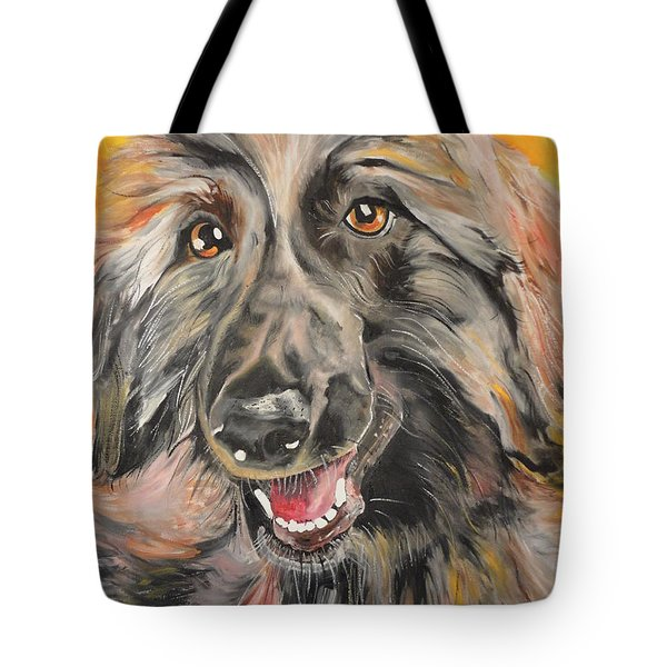 Tote Bag featuring the painting Afghan by PainterArtist FIN