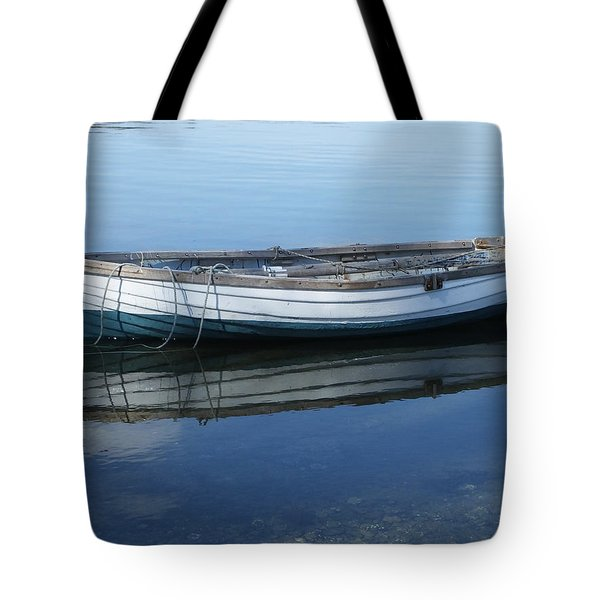 Tote Bag featuring the photograph Afloat by Mark Alan Perry