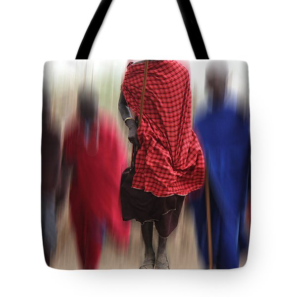 Africa Tote Bag by Christine Sponchia