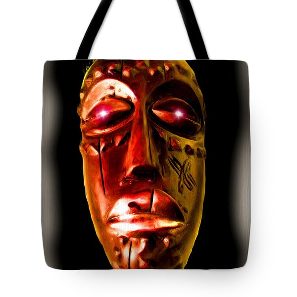 Tote Bag featuring the digital art Africa by Daniel Janda