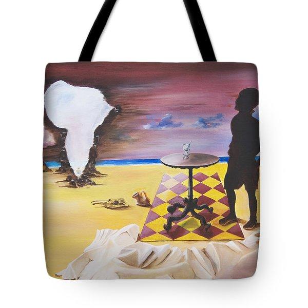Africa Waits Tote Bag