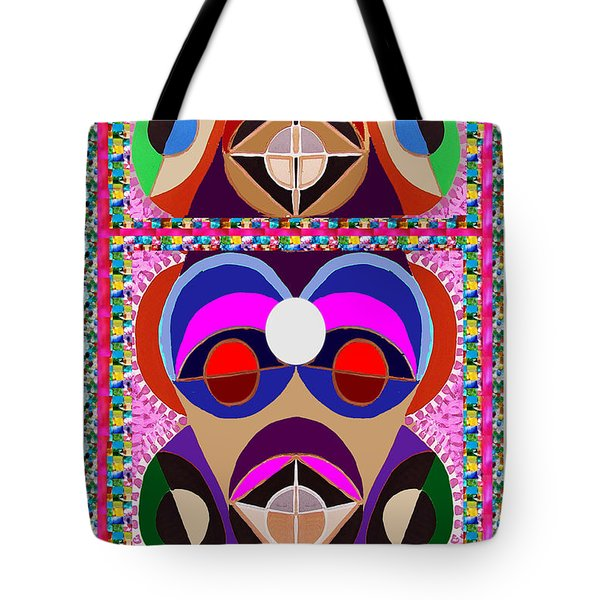 African Art Style Mascot Wizard Magic Comedy Comic Humor  Navinjoshi Rights Managed Images Clawn    Tote Bag