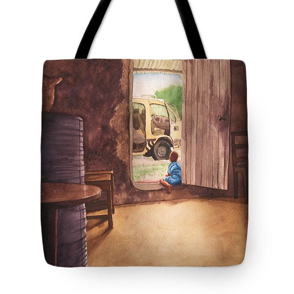 African Child's Dream Tote Bag