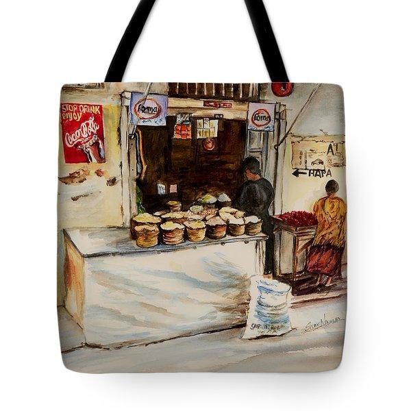 African Corner Store Tote Bag