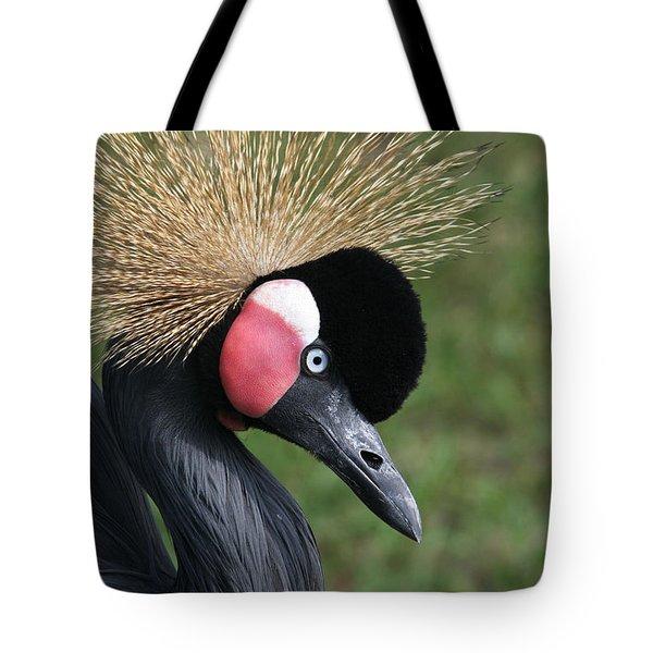 African Crowned Crane #2 Tote Bag