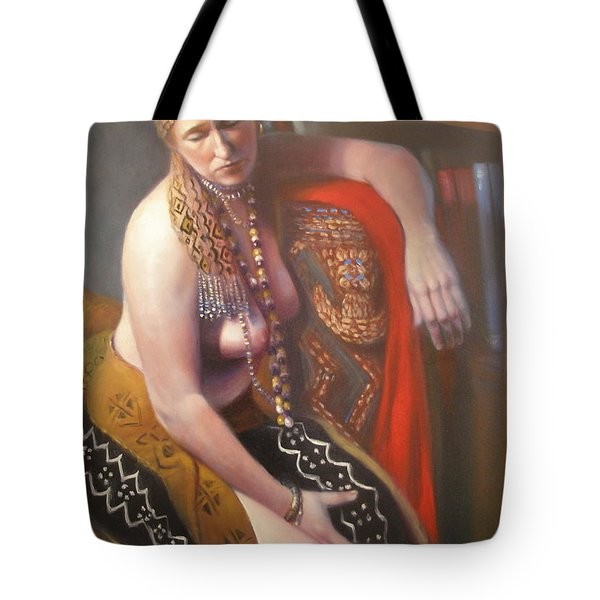 African Drum #2 Tote Bag