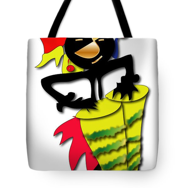 Tote Bag featuring the digital art African Drummer by Marvin Blaine