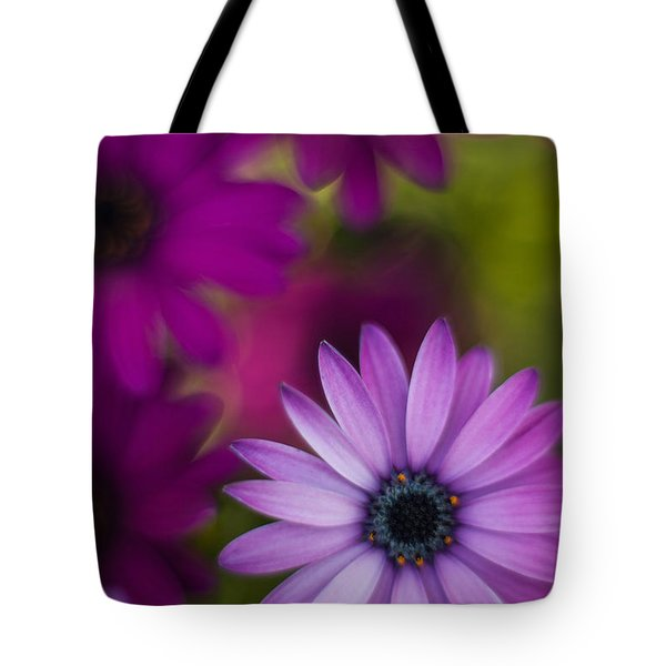 African Gerbera Standout Tote Bag by Mike Reid