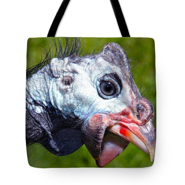 African Guinea Tote Bag by Karon Melillo DeVega