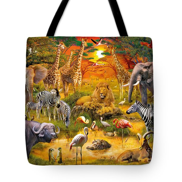 African Harmony Tote Bag