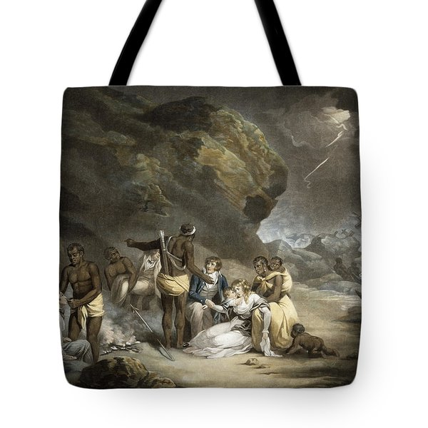 African Hospitality, Engraved By John Raphael Smith, 1791 Mezzotint Tote Bag