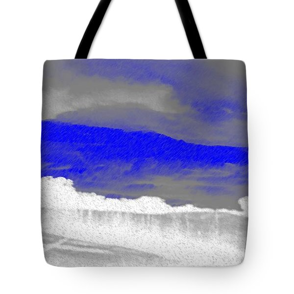 African Landscape Tote Bag by George Pedro
