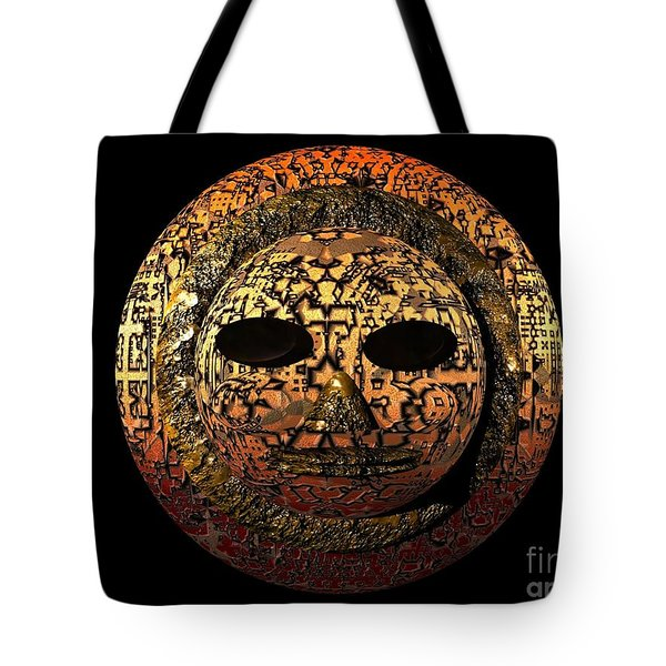 African Mask Series 1 Tote Bag
