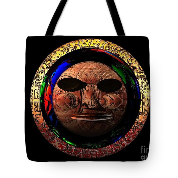 African Mask Series 2 Tote Bag