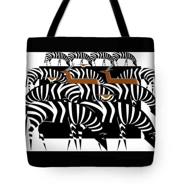 African Plains Tote Bag