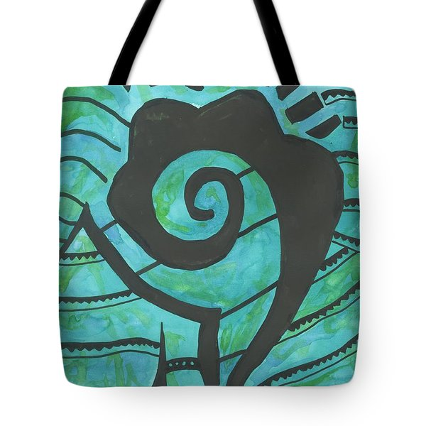 African Question Mark Tote Bag