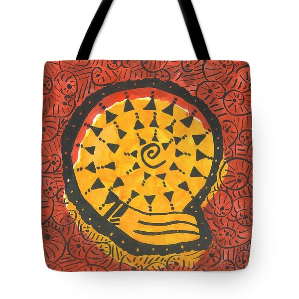 African Shell Pattern Tote Bag