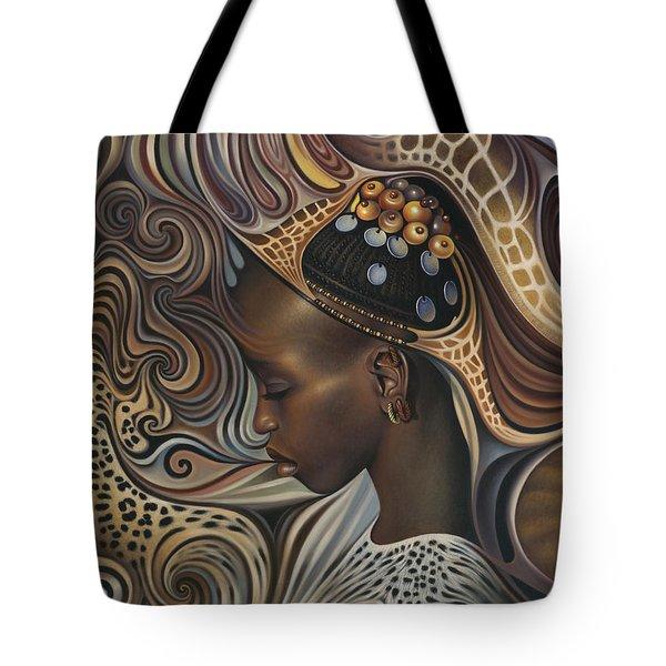 African Spirits II Tote Bag