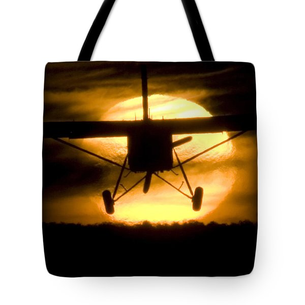 Tote Bag featuring the photograph African Sunset by Paul Job
