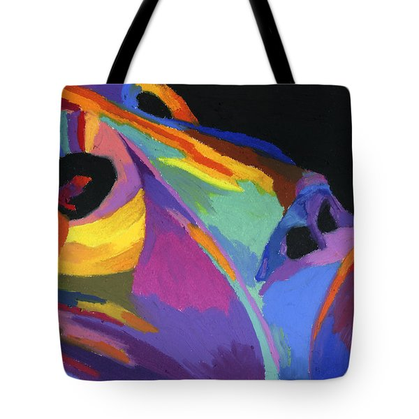 African Tribal Mask Tote Bag by Stephen Anderson