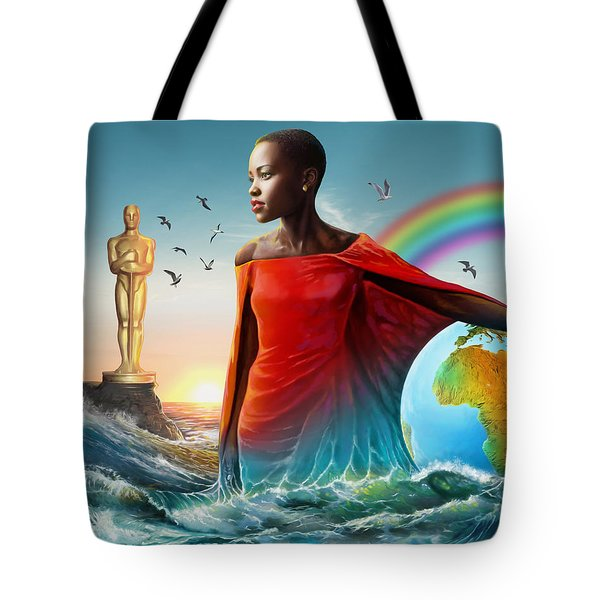 The Lupita Tsunami Tote Bag