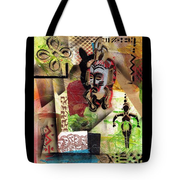 Afro Aesthetic A  Tote Bag by Everett Spruill