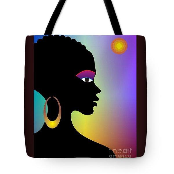 Afroette Tote Bag