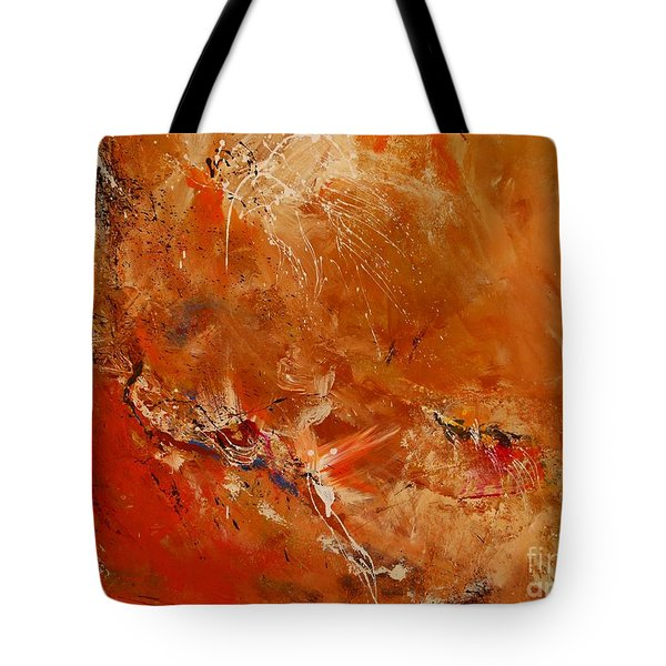 After A Long Time - Abstract Art Tote Bag