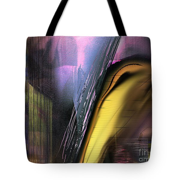 Tote Bag featuring the painting After Dark 2 by Yul Olaivar