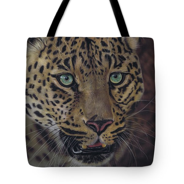 After Dark All Cats Are Leopards Tote Bag
