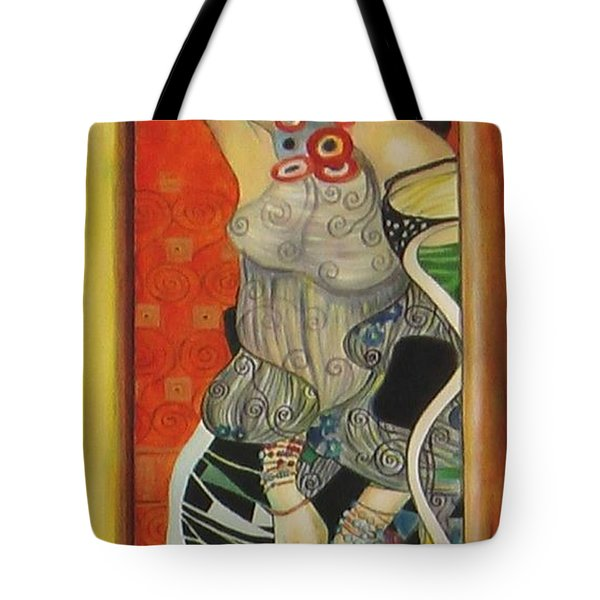 After Gustav Klimt Tote Bag