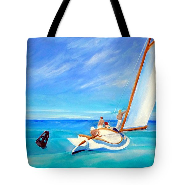 After Hopper- Sailing Tote Bag